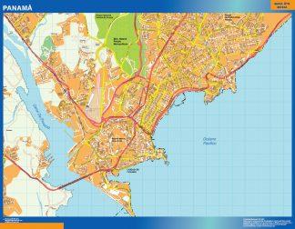 Mapa de Panama City